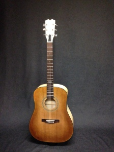 Dreadnaught Steel String honeyburst top